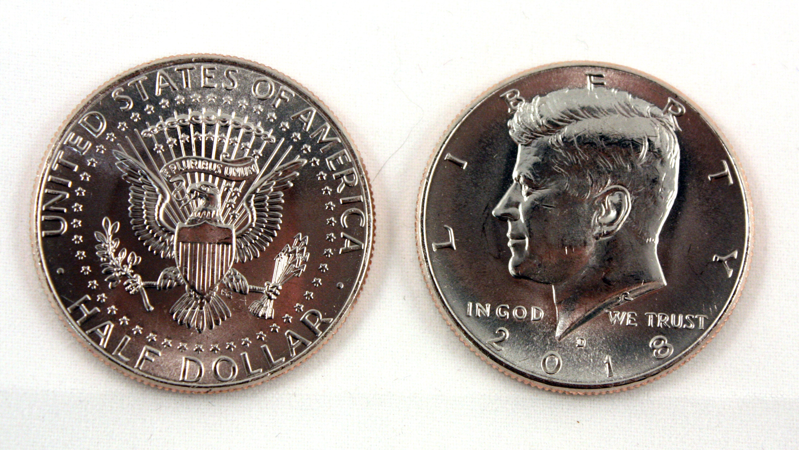 50 cents money coin