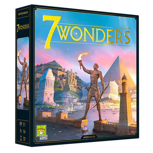 7 WONDERS -  BASE GAME - NEW EDITION (FRENCH)