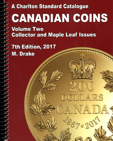 2020 Charlton Standard Catalog Canadian Coins Vol.2 Collector /& Maple Leaf Issue