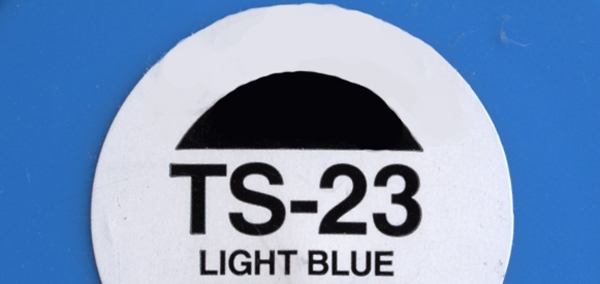 ACRYLIC PAINT -  LIGHT BLUE (100 ML) -  SPRAY PAINT TS-2