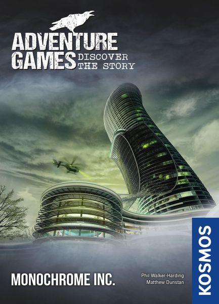 ADVENTURE GAMES -  MONOCHROME INC. (ENGLISH)