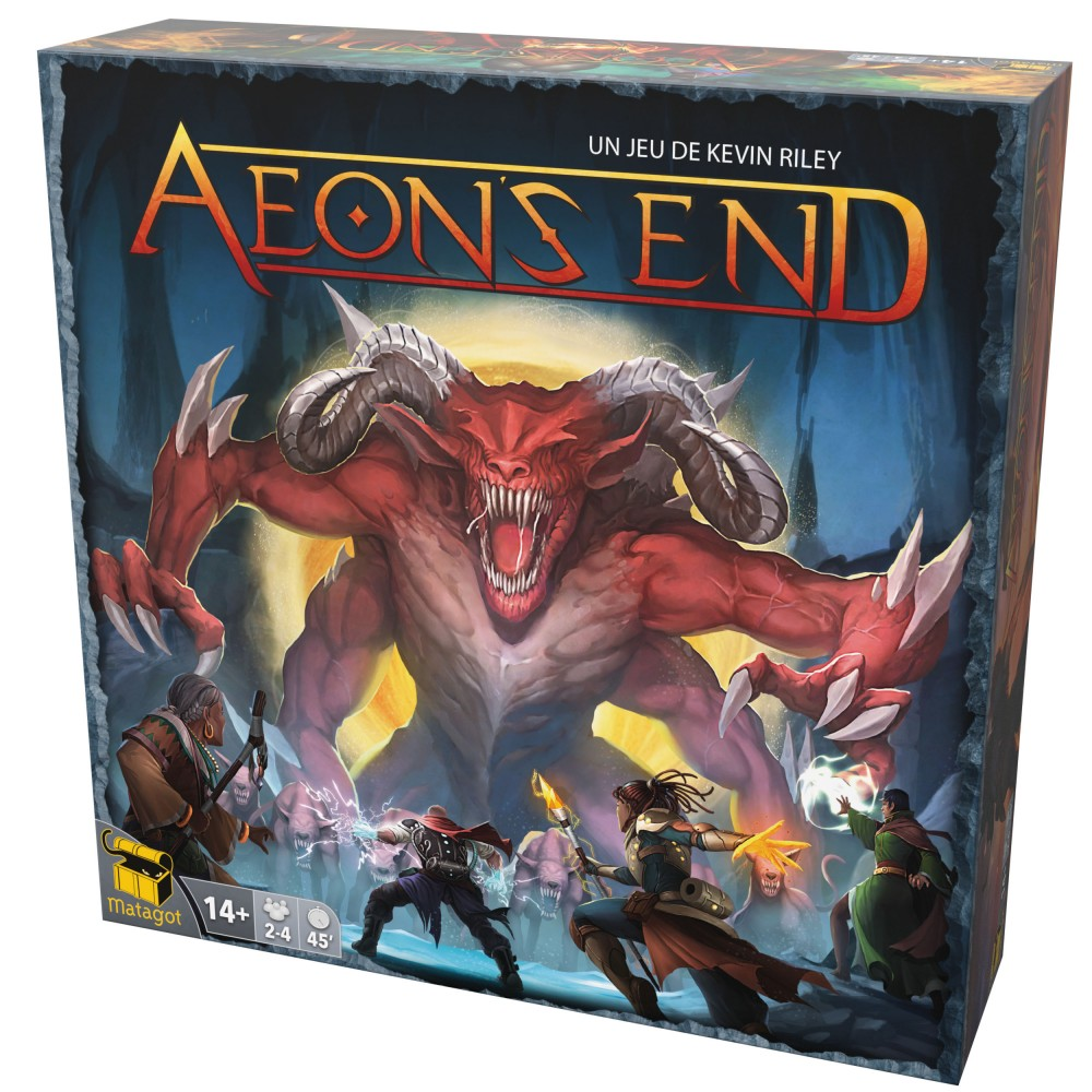 AEON'S END -  BASE GAME (FRENCH) -  2ND EDITION