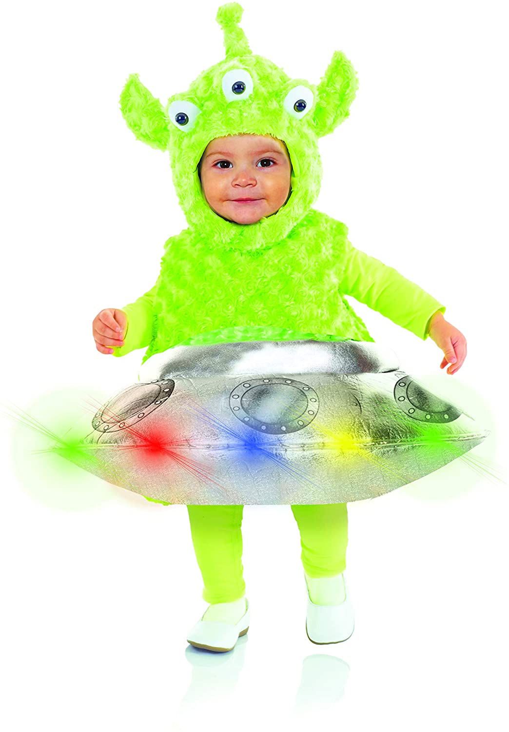 ALIEN -  OUT OF THIS WORLD COSTUME - LIGHT UP (INFANT & TODDLER)