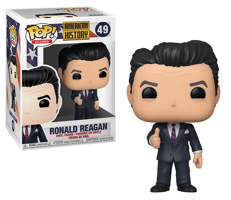 AMERICAN HISTORY -  POP! VINYL FIGURE OF RONALD RAEGAN (4 INCH) 49