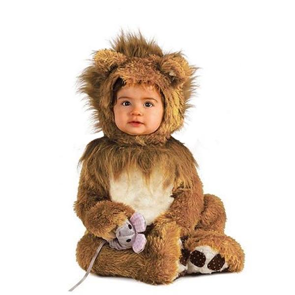 ANIMALS -  LION CUB COSTUME (BABY) -  LION