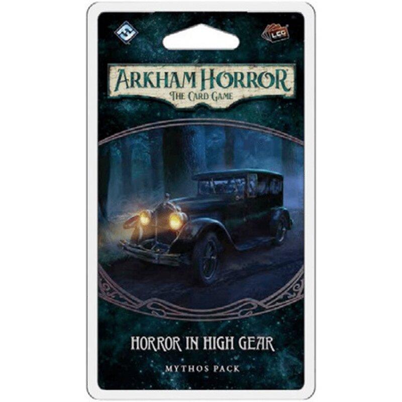 ARKHAM HORROR : THE CARD GAME -  HORROR IN HIGH GEAR (ENGLISH)