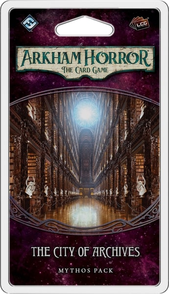 ARKHAM HORROR : THE CARD GAME -  THE CITY OF ARCHIVES - MYTHOS PACK (ENGLISH)