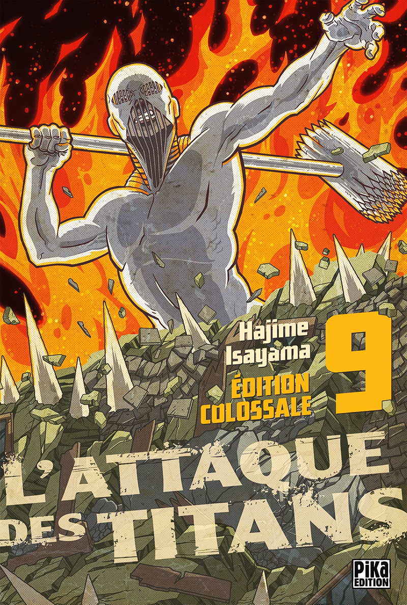 ATTACK ON TITAN - ÉDITION COLOSSALE (FRENCH V.) 09 ...