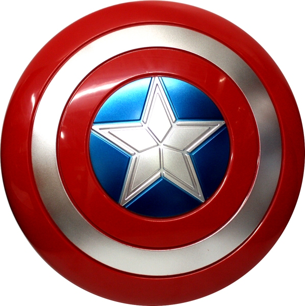 Avengers Captain America Shield 12 Inches Diameter Avengers Infinity War Accessories Shields