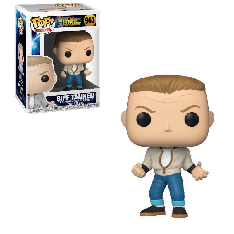 BACK TO THE FUTURE -  POP! VINYL FIGURE OF BIFF TANNEN (4 INCH) 963
