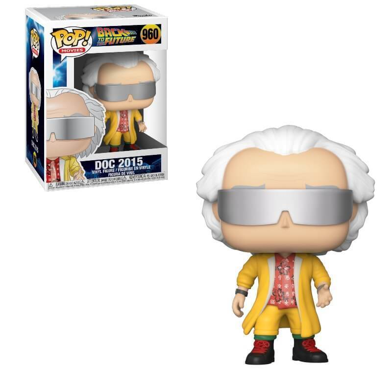 BACK TO THE FUTURE -  POP! VINYL FIGURE OF DOC 2015 (4 INCH) 960