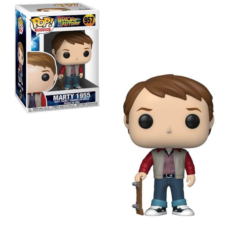 BACK TO THE FUTURE -  POP! VINYL FIGURE OF MARTY MCFLY 1955 (4 INCH) 957