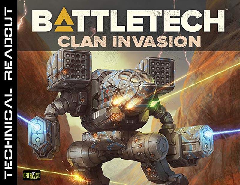 BATTLETECH -  TECHNICAL READOUT (ENGLISH) -  CLAN INVASION