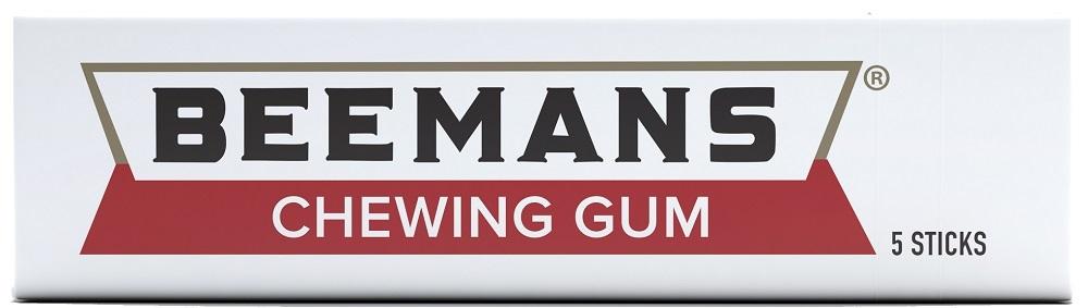 BEEMANS -  CHEWING GUM - 5 STICKS