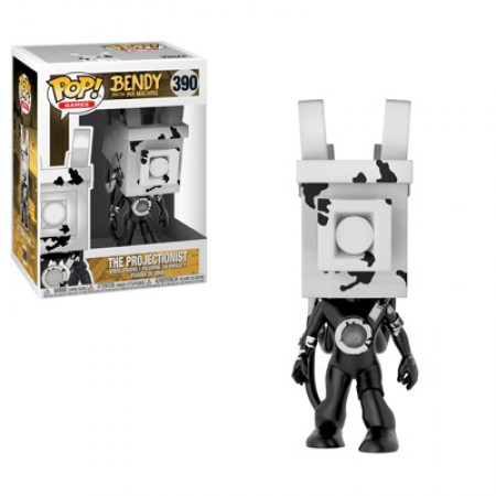 BENDY AND THE INK MACHINE -  POP! VINYL FIGURE OF THE PROJECTIONIST (4 INCH) 390