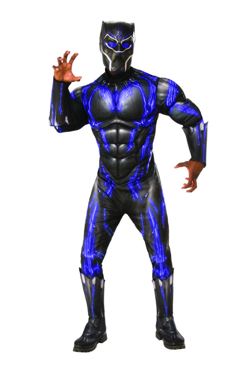 BLACK PANTHER -  BLACK PANTHER COSTUME (ADULT)
