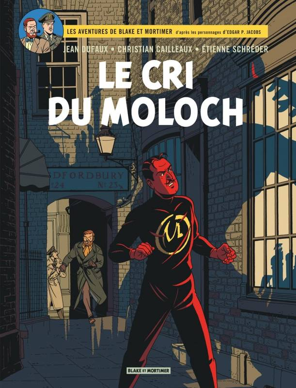 BLAKE AND MORTIMER -  LE CRI DU MOLOCH 27