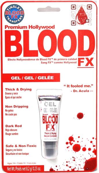 BLOOD -  BLOOD FX - GEL 8.2 G/0.28 OZ.
