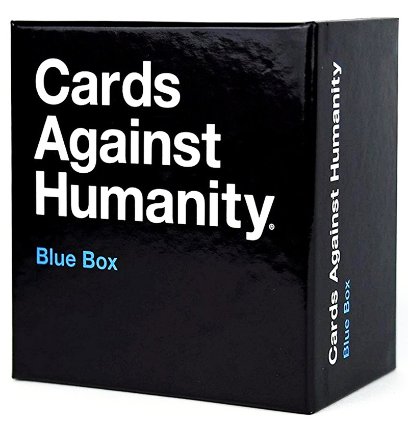 CARDS AGAINST HUMANITY -  BLUE BOX (ENGLISH)