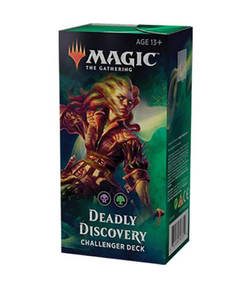 CHALLENGER DECKS 2019 -  DEADLY DISCOVERY (60-CARD DECKS)
