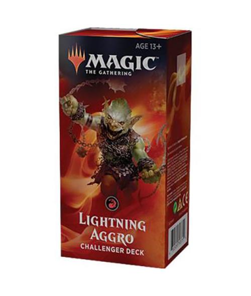 CHALLENGER DECKS 2019 -  LIGHTNING AGGRO (60-CARD DECKS)