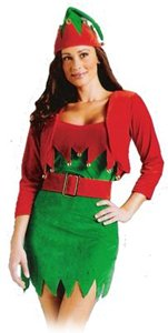 CHRISTMAS -  ELFALICIOUS COSTUME