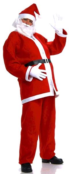 CHRISTMAS -  SANTA CLAUS COSTUME (ADULT) -  SANTA CLAUS