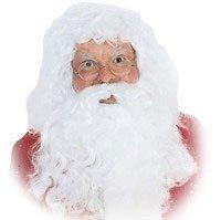 CHRISTMAS -  SANTA WIG AND BEARD SET -  SANTA CLAUS