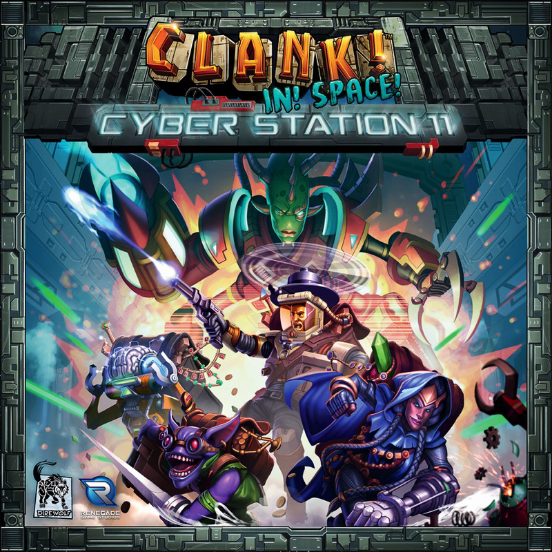CLANK! IN! SPACE! -  CYBER STATION 11 (ENGLISH)