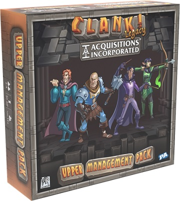 CLANK! LEGACY : ACQUISITIONS INCORPORATED -  UPPER MANAGEMENT DECK (ENGLISH)