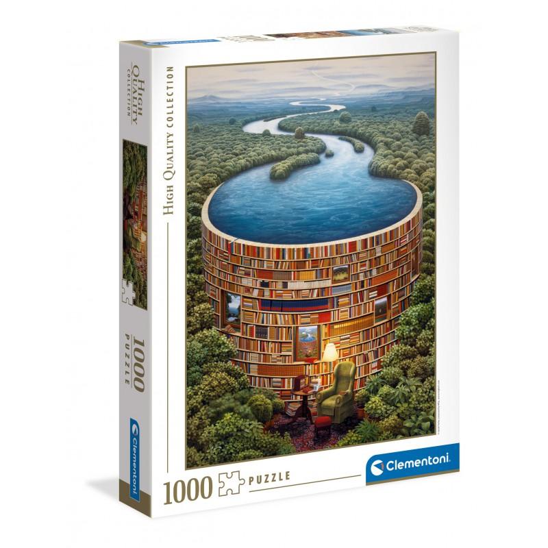 CLEMENTONI -  BIBLIODAME (1000 PIECES)