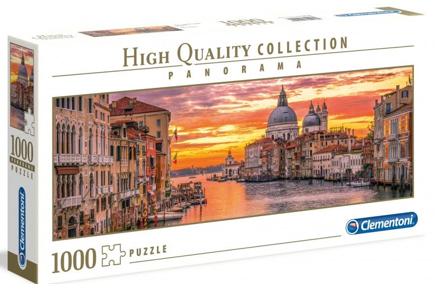 CLEMENTONI -  THE GRAND CANAL VENICE (1000 PIECES) -  PANORAMA