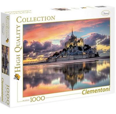 CLEMENTONI -  THE MAGNIFICIENT MOUNT SAINT-MICHEL (1000 PIECES)