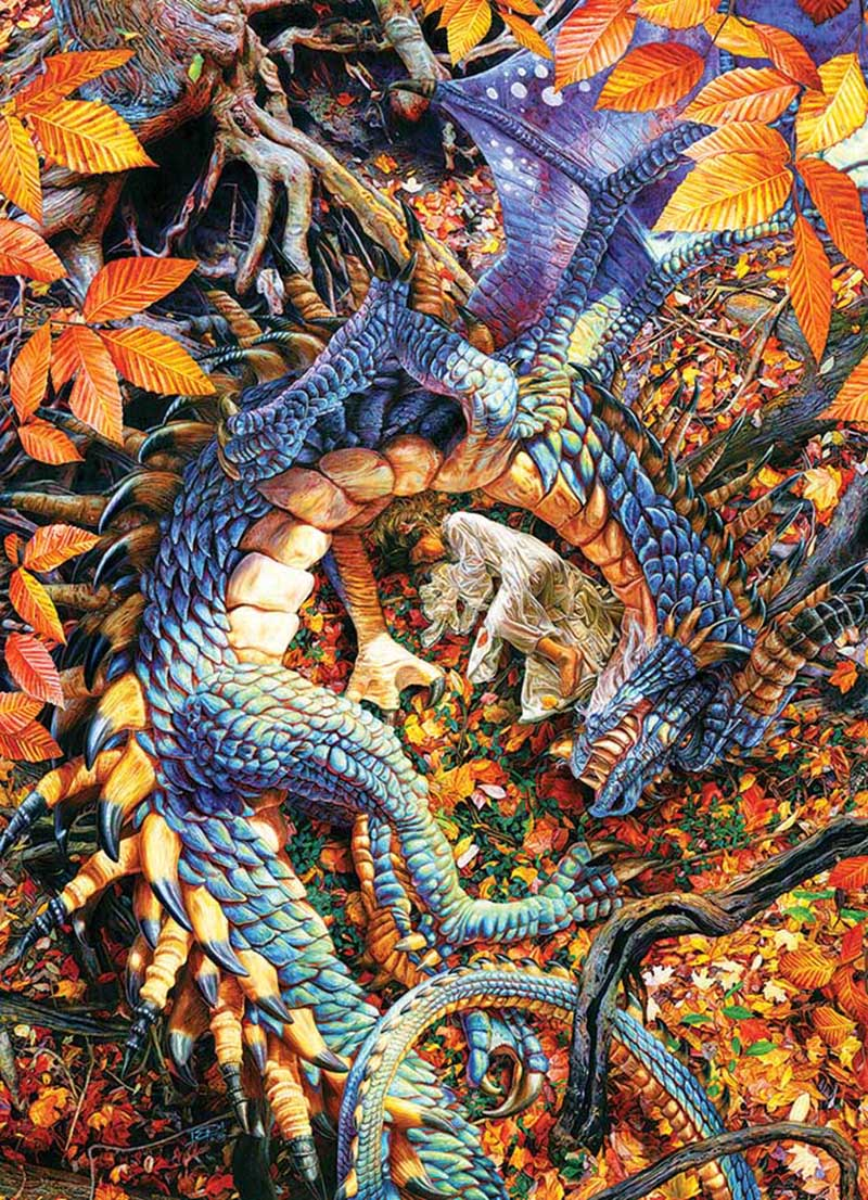COBBLE HILL -  ABBY'S DRAGON (1000 PIECES)