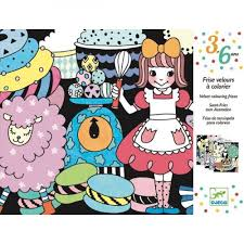 COLOURING JOIN THE DOTS -  SWEET PARADE