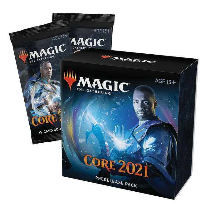 CORE SET 2021 -  PRERELEASE FROM HOME PACK (ENGLISH)