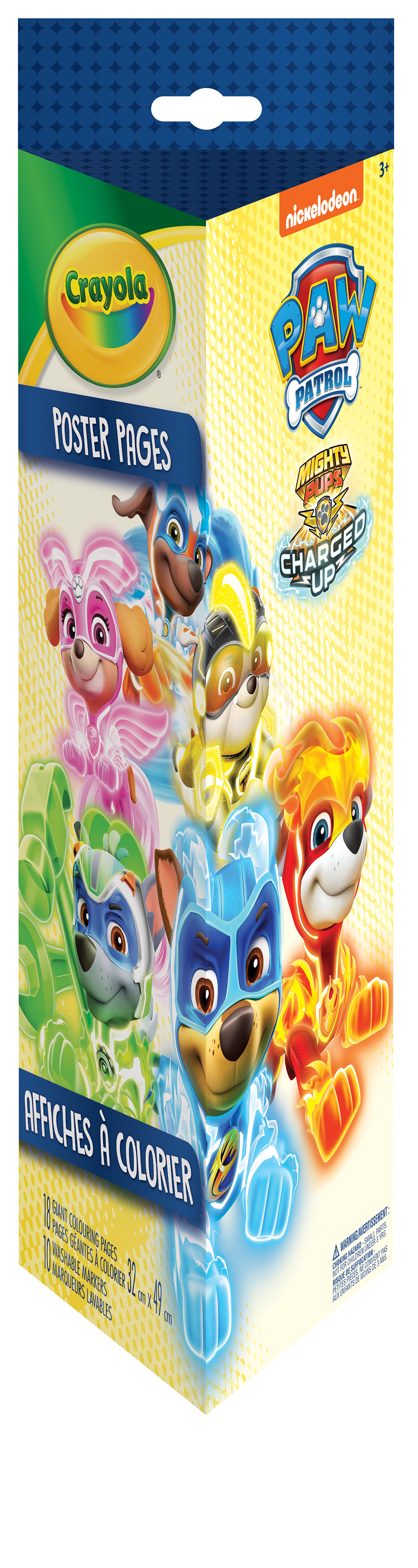 CRAYOLA -  POSTERS TO COLOR -  PAW PATROL