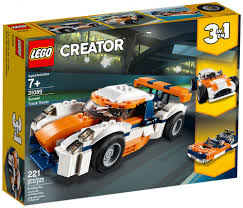 CREATOR -  SUNSET TRACK RACER (3 IN 1) (221 PIECES) 31089