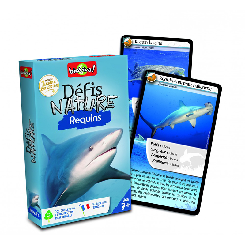 DEFIS -  DÉFIS NATURE - REQUINS