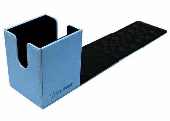 DELUXE DECK BOX -  MTG - ALCOVE FLIP BOX - 100 - SNOW