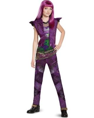 Descendants 2 Mal Deluxe Costume Child Girls 3 Years To 12 Years Disney