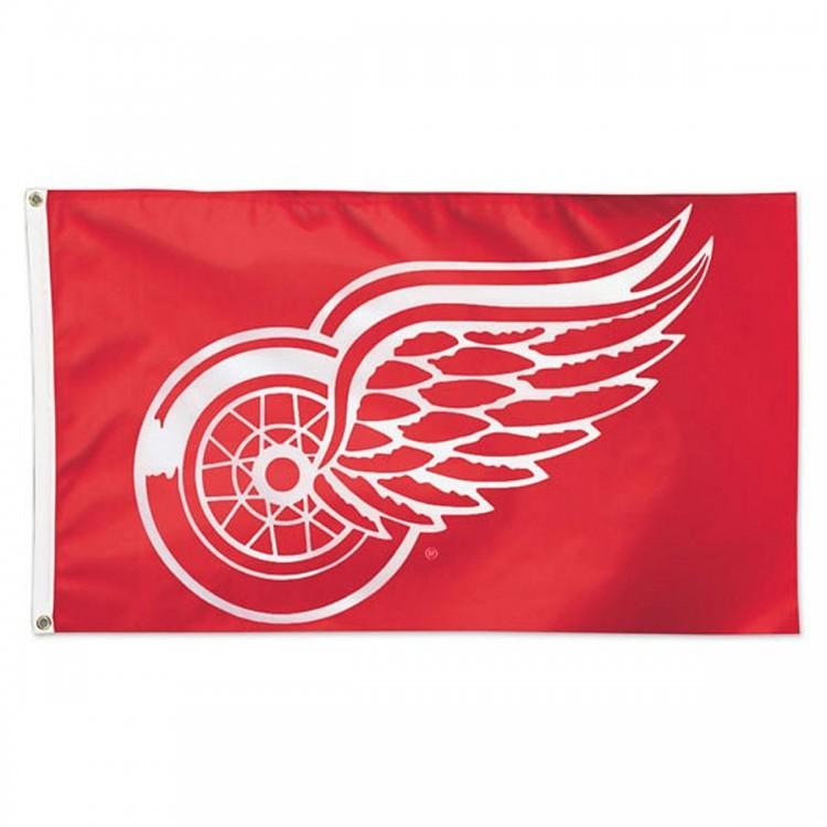 DETROIT RED WINGS -  3' X 5' HORIZONTAL FLAG