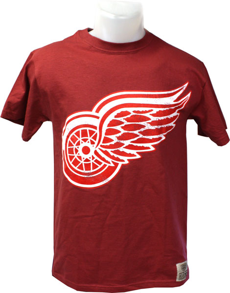 Detroit Red Wings Red Bob Probert 24 T Shirt Hockey T Shirts