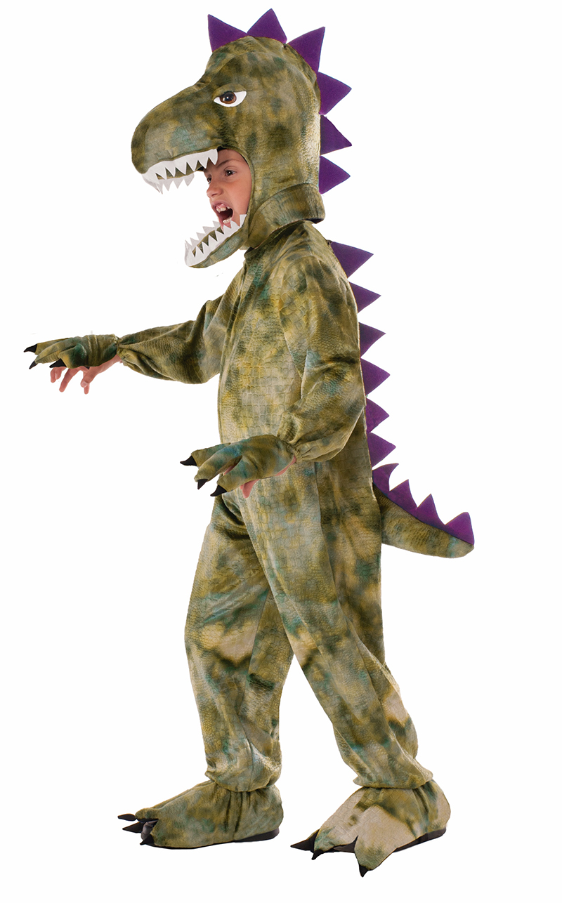 DINOSAUR -  PLUSH DINOSAUR COSTUME (CHILD)