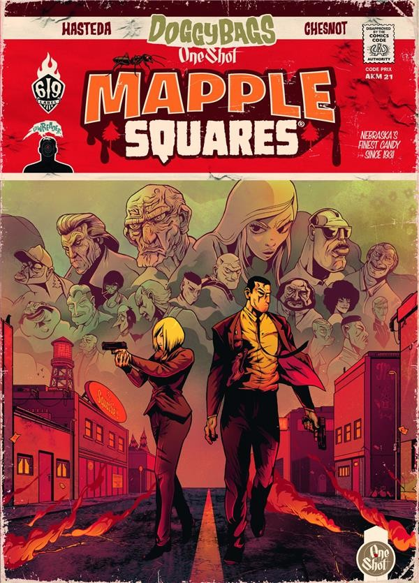DOGGYBAGS ONE SHOT -  MAPPLE SQUARES