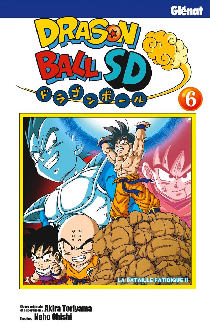 DRAGON BALL -  LA BATAILLE FATIDIQUE !! (FRENCH V.) -  DRAGON BALL SD 06