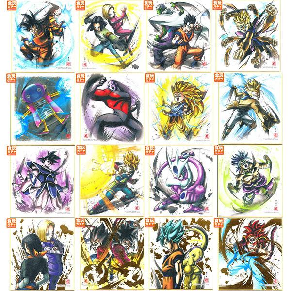 DRAGON BALL -  SHIKISHI (ILLUSTRATED ART BOARD) SERIE 4