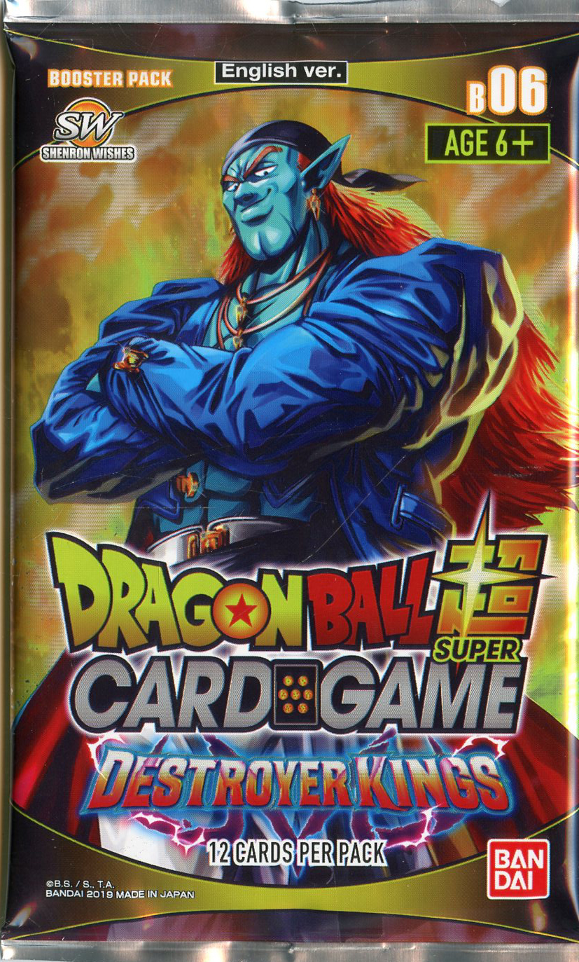 DRAGON BALL SUPER -  DESTROYER KINGS BOOSTER PACK (P12/B24)