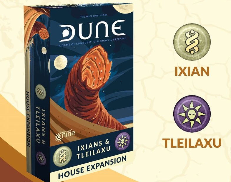 DUNE -  IXIANS AND TLEILAXU HOUSE (ENGLISH)