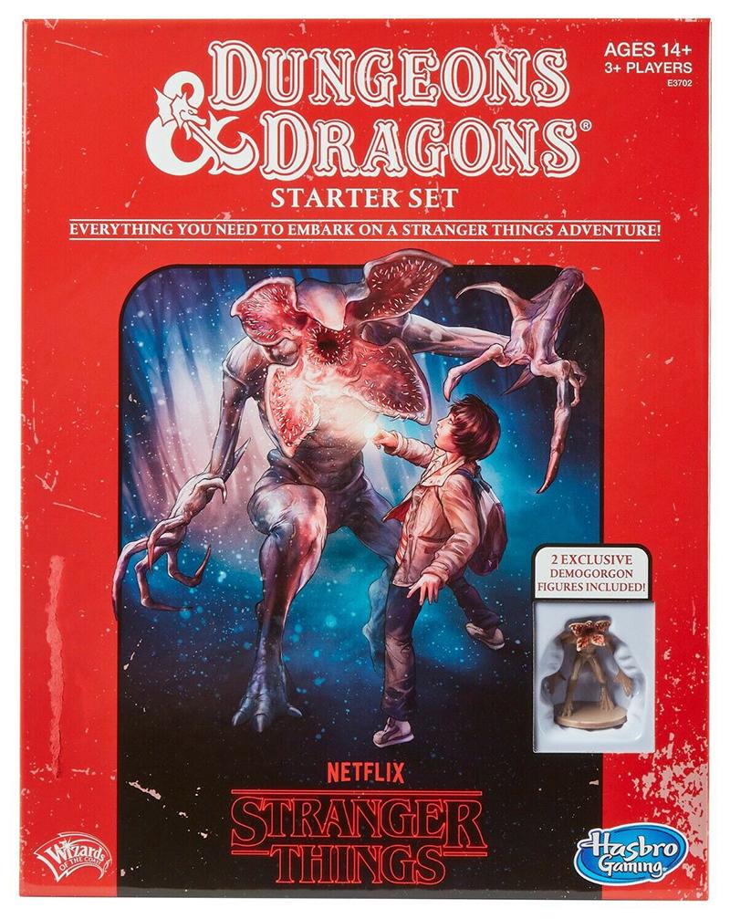 DUNGEONS & DRAGONS -  STARTER SET -  STRANGER THINGS